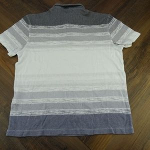Alfani Shirts - Alfani Mens Gray Quilted Two Button Size S NWT